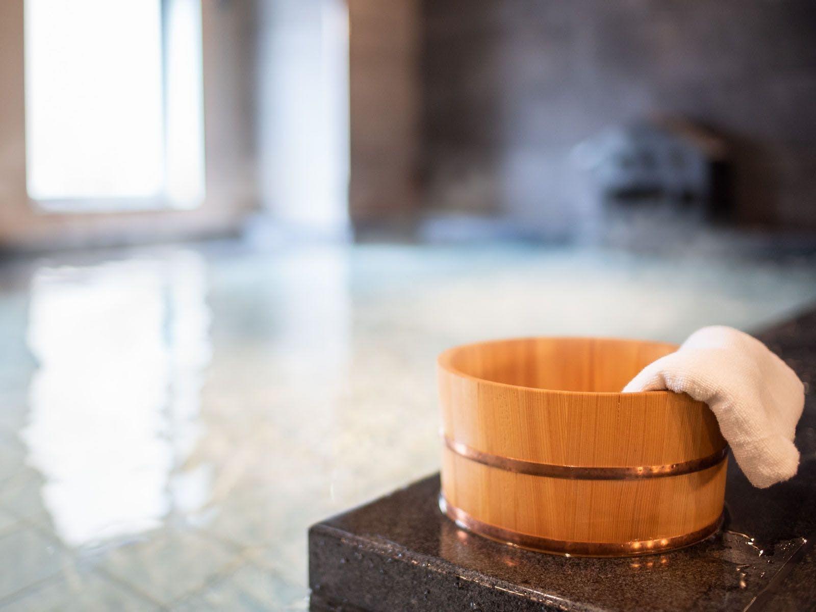 高濃度炭酸泉 ハナミズキの湯 スーパーホテル新横浜