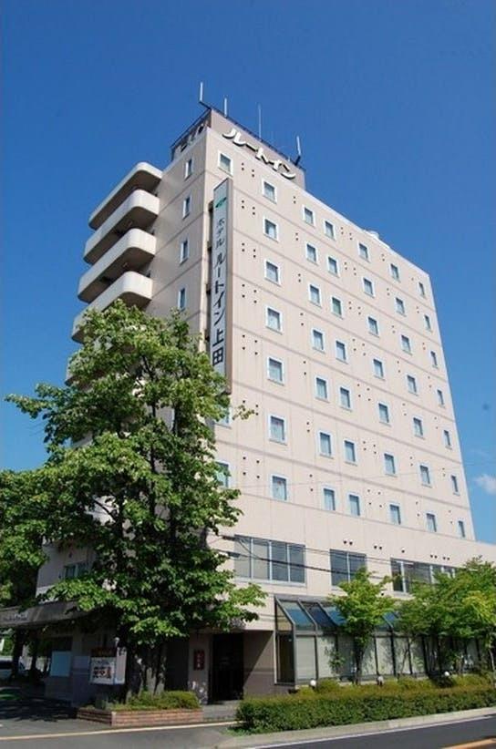 ホテルルートイン上田-国道18号-
