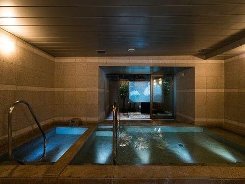 高濃度炭酸泉 八重桜の湯 スーパーホテルPremier東京駅八重洲中央口